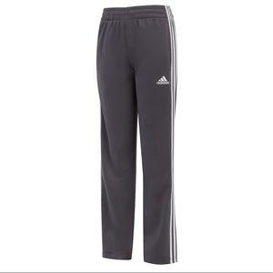 Boys Adidas Dark Grey Pants, Size M (10-12)